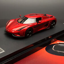 FrontiArt Avan Style Koenigsegg Regera Candy Red Resin Car Model Collection 1:64