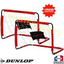 2 Cage de foot But Pour Football Pour Jardin Stade Plage 78x56x45cm DUNLOP