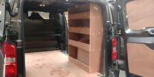 Citroen Dispatch MWB (New 2016 onwards) Van Racking, Plywood Shelving