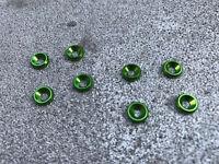 Aluminum Body Savers Washers (8Pcs) for Traxxas X-Maxx XMAXX Green