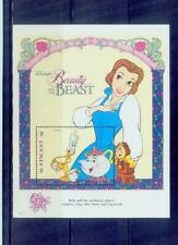 st.vicent/disney story-beauty and the beast 1 /mnh.good condition