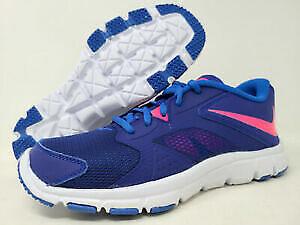 Nike Kids Flex Supreme TR 3 Running Shoe, Blue/Pink/Cobalt, 12C M US