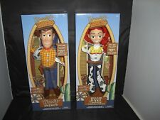 Disney Toy Story Talking Woody the Sheriff and Jessie Yodeling Cowgirl