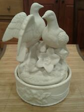 Vintage Musical Love Doves by The San Francisco Music Box Company