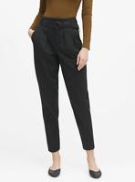 Banana Republic 6 Petite Pants High Rise Tapered Cropped Black 6P New NWT sz 6