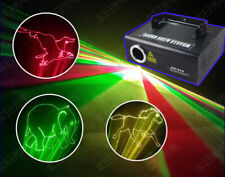 300mw RGB DMX Full Color Animation Laser Light DJ Stage Effect home xmas party