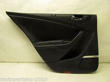2007 VW PASSAT B6 SEDAN DOOR TRIM PANEL REAR LEFT BLACK OEM 06 07 08 09