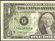 1988A $1 DOLLAR BILL OFFSET PRINT ERROR NOTE CURRENCY PAPER MONEY