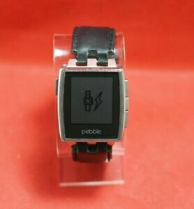 Pebble Steel Smart Watch 401S - *AS-IS*
