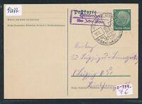 92077) DR   DDR Landpost Ra2 Hemsendorf über Jessen (Elster) GA mit OWST 1937