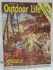 Outdoor Life Magazine November 1956 Deer Hunter Special How To Find Grouse