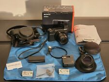 Sony DSC-RX100 IV Cyber-shot 4K Camera + extras Raynox Macro Excellent Condition