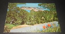 Vintage Postcard Lake Berryessa  California Boating Resort
