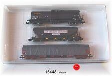 Trix Minitrix 15448 Güterwagen-Set  der SNCF 3-teilig #NEU in OVP#