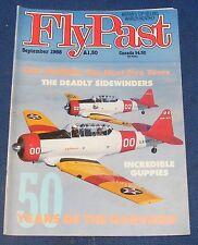 FLYPAST MAGAZINE SEPTEMBER 1988 - 50 YEARS OF THE HARVARD