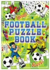 Football Fun Puzzle Book Party Bag Christmas Stocking Fillers Cross Word Search