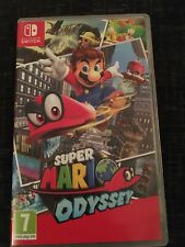 Super Mario Odyssey Nintendo Switch Game (GREAT CONDITION)