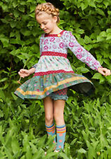 Girls Matilda Jane Choose you own path All the Right Notes Dress Size 2 NWT