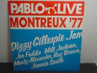 VINTAGE VINYL RECORD PABLO LIVE MONTREUX '77 DIZZY GILLESPIE JAM 2308-211-A