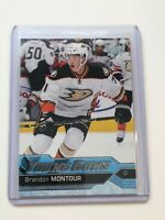 F63442  2016-17 Upper Deck #476 Brandon Montour YG RC DUCKS