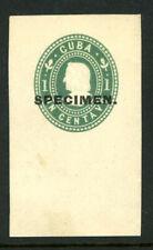 Spanish American War U9s Mint Postal Stationery Specimen Cut Square 6B21 34