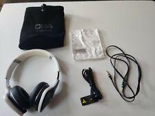 Monster Audio DNA On-Ear Noise Isolating Wired Headphones Black/White Work Great