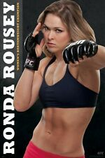 "UFC RONDA ROUSEY POSTER ""LICENSED"" FIRST WOMEN'S BANTAMWEIGHT CHAMPION"
