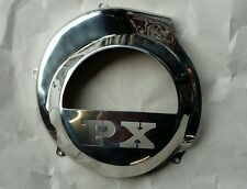 Vespa PX LML Electric Start Model Polished Stainless Steel Flywheel Cover..NEW!!