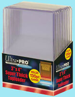 10 ACEO ART CARD Rigid Super Thick Toploader Sleeves NEW Clear Acid Free Archive