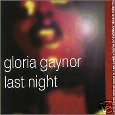 Gloria Gaynor Last Night 4 RARE REMIXES OZ CD single