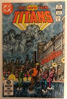 DC COMICS The New Teen Titans  #26 1982 1st Appearance of Terra High Grade NM