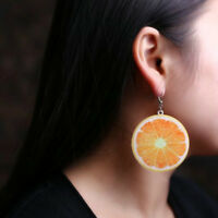 Large Fruit Strawberry Pineapple Drop Dangle Hook Earrings Women Jewelry Hot