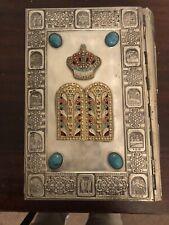 Vintage Large Size Jewish Bible In Metal Cover- Printed 1971