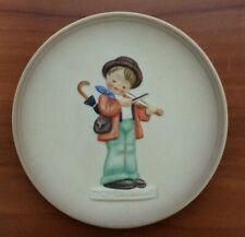 Vintage Hummel Little Music Makers Miniature Collector Plate - The Soloist