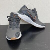 Nike Mens Renew Running Shoes Sneakers Iron Grey/Metallic Copper 10.5 New