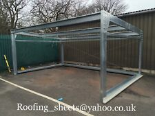 steel framed buildings 5.5mx4mx3.5