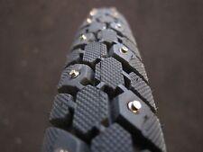 "Studded bike trie 27""x 1 3/8"" 164 steel studs black skin wall wire bead"