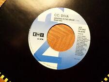 "PROMO 7"" EMI 45 RECORD/CC DIVA/ GRAZING IN THE GRASS/ NR MINT VINYL"