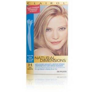 Clairol Natural Dimensions Subtle Highlighting, Light Blonde to Med Brown -3Pack