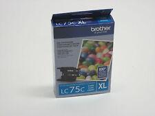 EX1016 Brother LC75 XL high yield cyan ink LC 75 J6510DW J6710DW J6910DW J280W