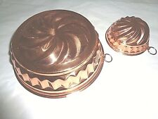 Vintage But New with tags Kupfer-Wagner Copper molds