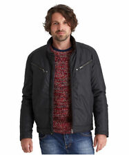 Cotton Hip Length Biker Jackets for Men