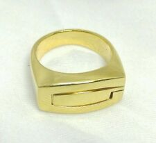 GUESS COLLECTION Gold Plate Sterling Silver 925 - Letter G Ring 8.25