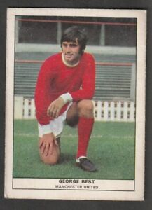 ANGLO Confectionary Football Manchester United N Ireland GEORGE BEST issued 1969