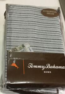 Tommy Bahama Home Raw Coast Bedding, European Sham, Blue