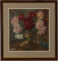 Henry E. Foster (1921-2010) - Mid 20th Century Oil, Summer Blooms