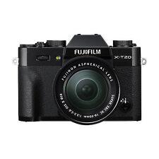Fujifilm X-t20 24.3mp 4k Mirrorless DSLR Camera With 16-50mm Ois II Fuji Lens