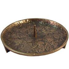 Bronze Leuchter 15 cm Bronze candle holder