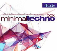CD Minimal Techno Box von Various Artists 4CDs