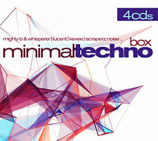 CD Minimal Techno Box d'Artistes divers 4CDs